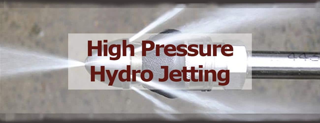 High Pressure Hydro Jetting